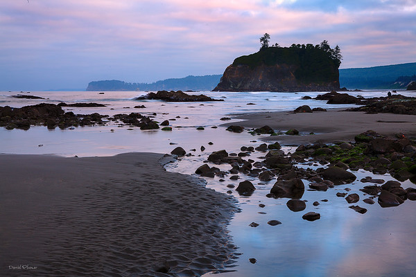 Dawn At Ruby Beach