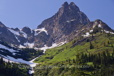 One of many overlooks on Highway 20 thru the North Cascades.