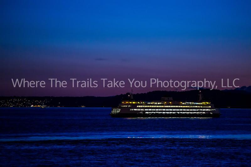 11.  The evening ferry run