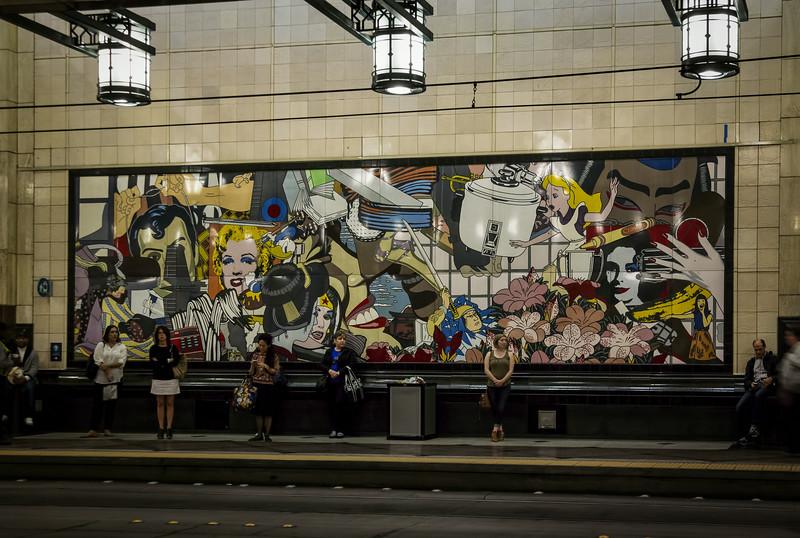 Seattle Bus and Light Rail underground
