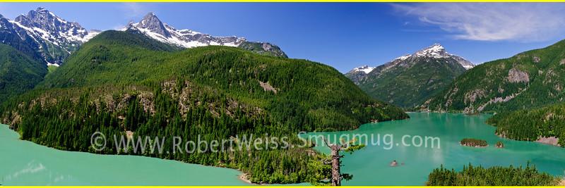 The Diablo Lake overlook on Highway 20 thru the North Cascades.