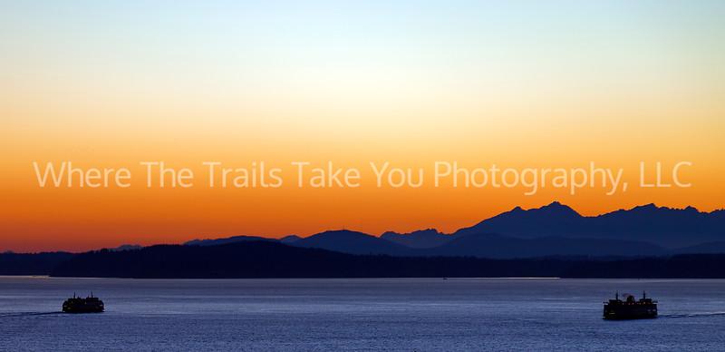 6  Puget Sound Sunset