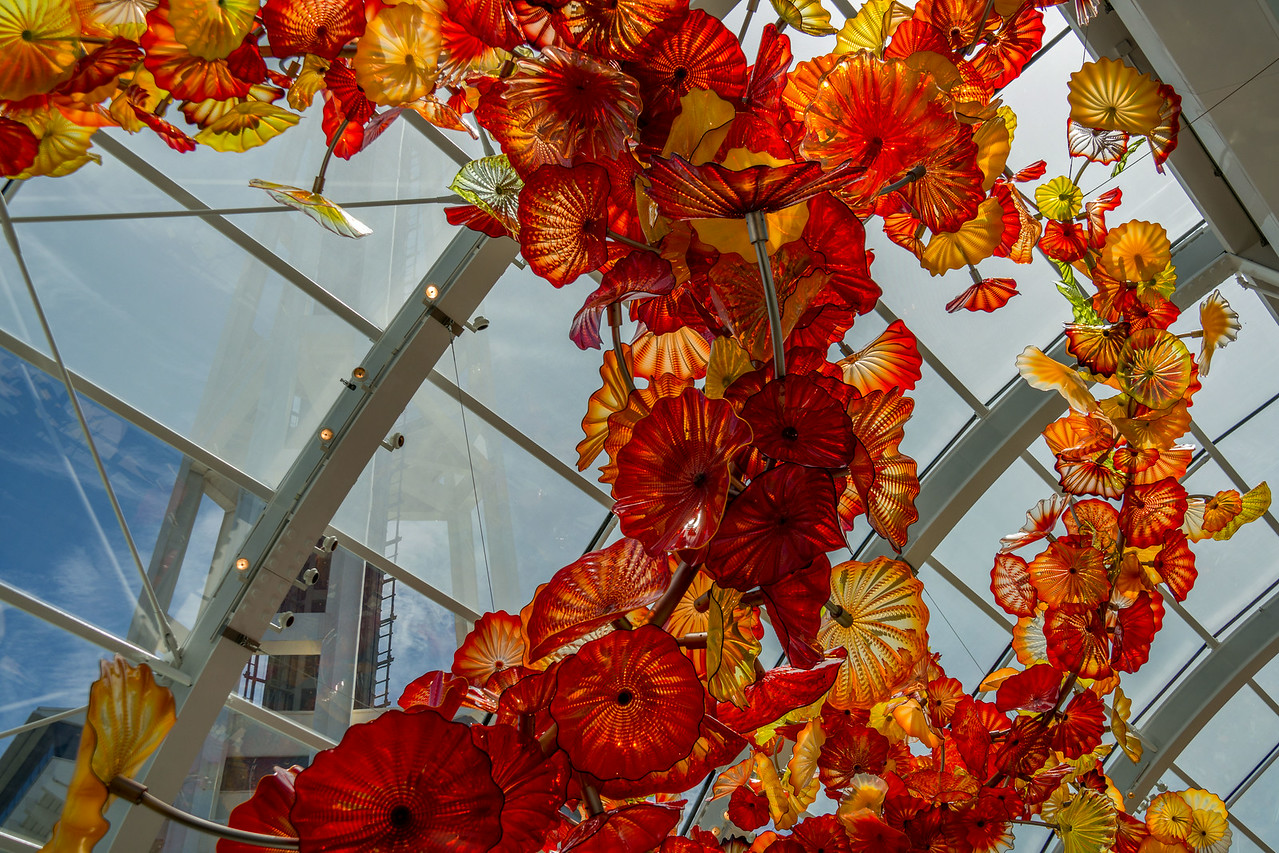 Chihuly Glass Exhibit  Seattle Center