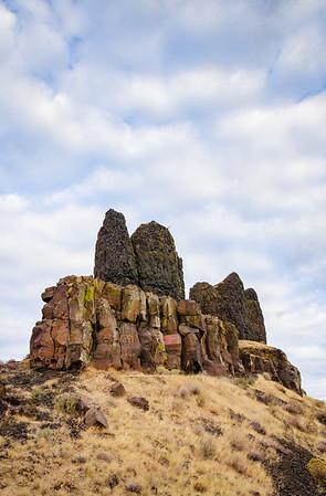 Twin Sisters Rocks