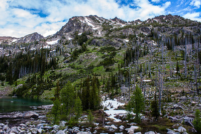 North Cascades Alpine Lake