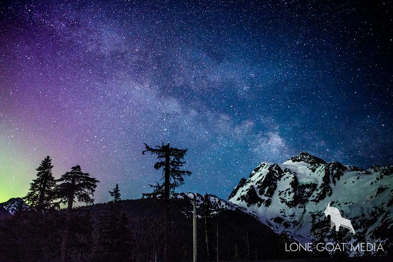 Milky Way over Mt. Shuksan