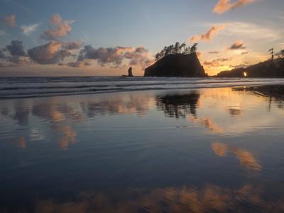 Sunset on a Second Beach