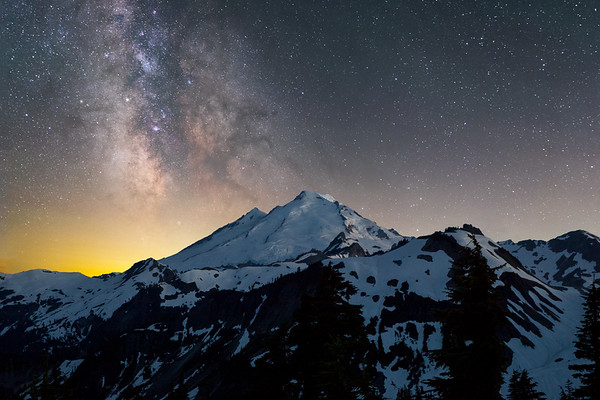 The Unknown View of Mt. Baker