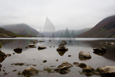 Wast Water in the Cumbrian Lake District, England