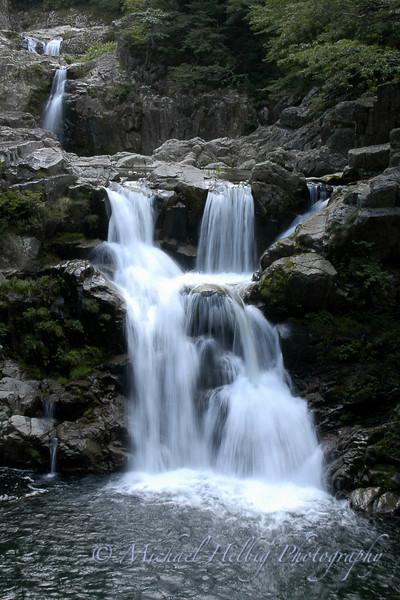Sandankyo Waterfalls - Hiroshima