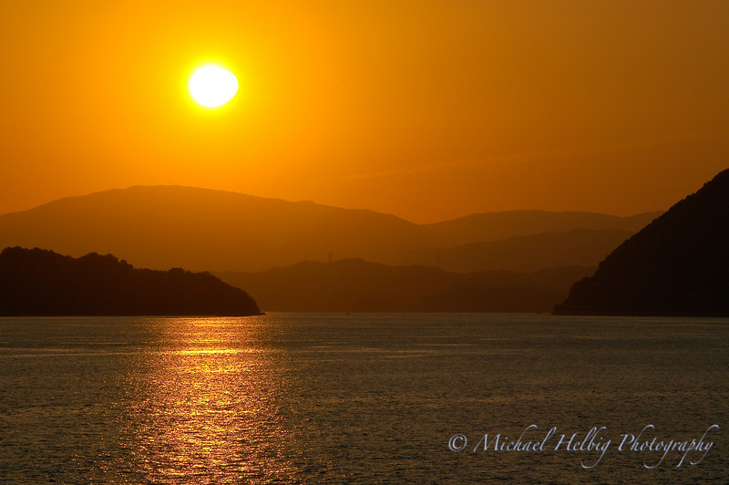 Setonaikai Sunset - Hiroshima
