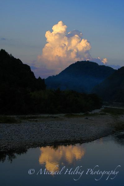 River Sunset - Hiroshima