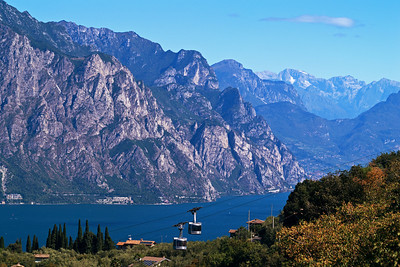 Looking Toward the Alps at Lake Garda