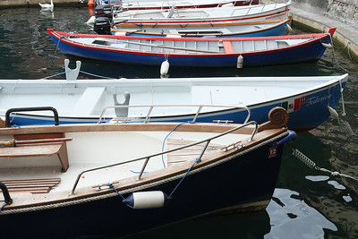 Boats in Limone