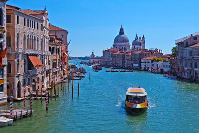 Venice -The Grand Canal from the Academia Bridge