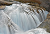 Natural Bridge Falls on Kicking Horse River<br /> Low Flow in October,<br /> Yoho National Park, British Columbia