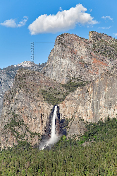 Tunnel View - Bridalveil Fall,<br /> Yosemite National Park, 2011