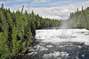 Dawson Falls,<br /> Murtle River, 60 feet,<br /> Wells Gray Provincial Park,  British Columbia