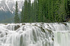 Wapta Falls,<br /> Kicking Horse River, 98 feet,<br /> Yoho National Park,<br /> British Columbia, Canada