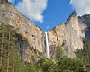Bridalveil Fall and Leaning Tower,<br /> Yosemite National Park, 2011