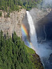 Rainbow at Helmcken Falls,<br /> Murtle River, 463 feet,<br /> Wells Gray Provincial Park,  British Columbia