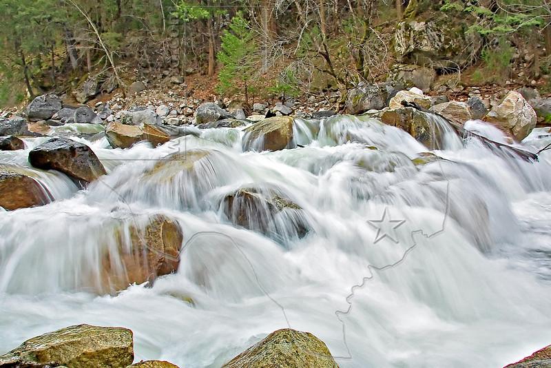 Yosemite Creek Rapids,<br /> Yosemite National Park, California