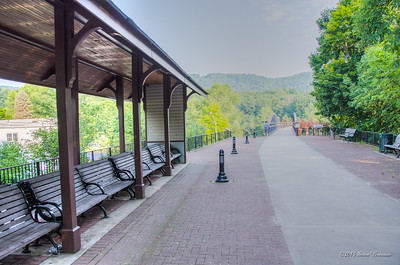 Ohio Pyle Park trail
