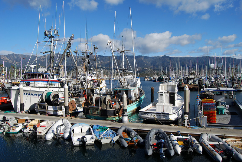 Santa Barbara, CA Marina