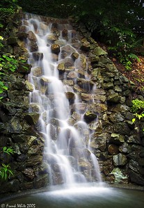 Water cascade at Longwood Gardens