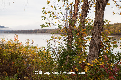 Autumn on the Wisconsin River, Dane County, Wisconsin