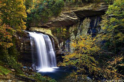 Looking Glass falls, Smoky Mountains, NC
