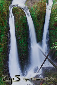 Falls / Columbia River Gorge / Oregon