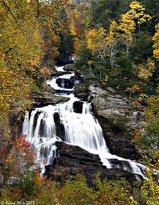 Cullasaja falls #3, Smoky Mountains, NC