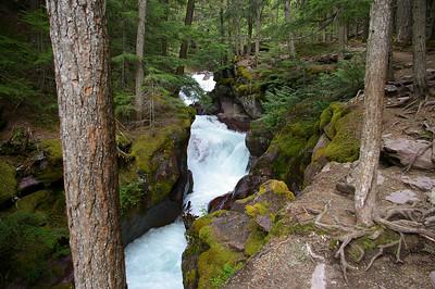 Glacier National Park - waterfall