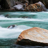 Rocks on the river Verzasca, Verzasca valley, Switzerland