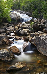 Second Falls, Lower, Smoky Mountains, NC
