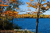 Autumn on Bass Lake, Gogebic County, Michigan