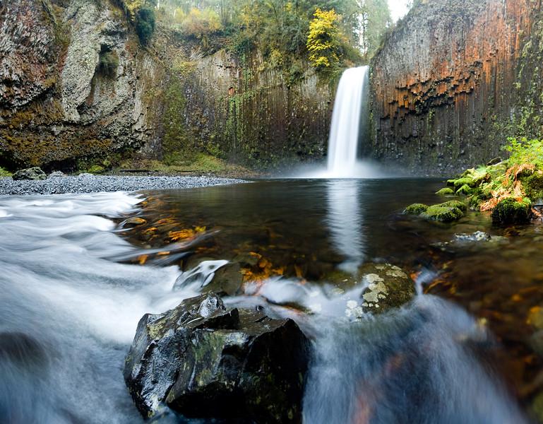 20091101-Abiqua Falls panorama 1-2