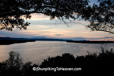 Lake Onalaska at Dusk, La Crosse County, Wisconsin