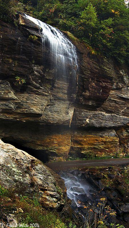 Bridal Veil Falls, Smoky Mountains, NC