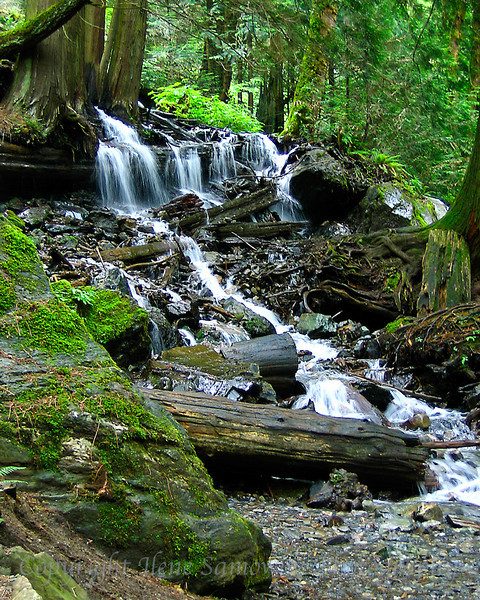 Bridal Falls Creek, British Columbia, Canada