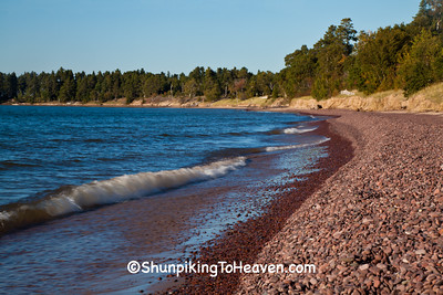 Lake Superior Shoreline, Keweenaw County, Michigan