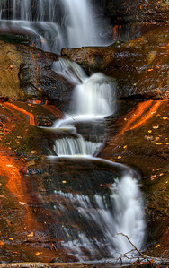 Munising Falls details #1, Michigan Upper Peninsula