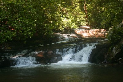 Wildcat Creek, above Lake Burton