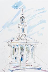 St Martins in the Field, Trafalgar Square, London