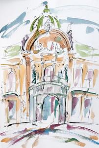 The Opera House, Obecni Dum, Prague