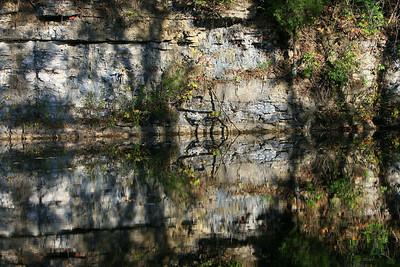 Quarry Pond reflection