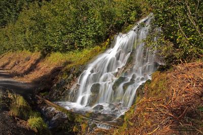 Small  Waterfalls, Mt.Hood, Oregon, U.S.A.