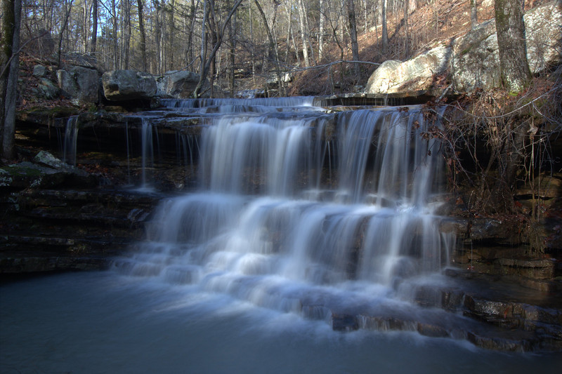 Unnamed Falls, West Prong, West Fork Point Remove Creek, Gulf Mountain WMA, Arkansas