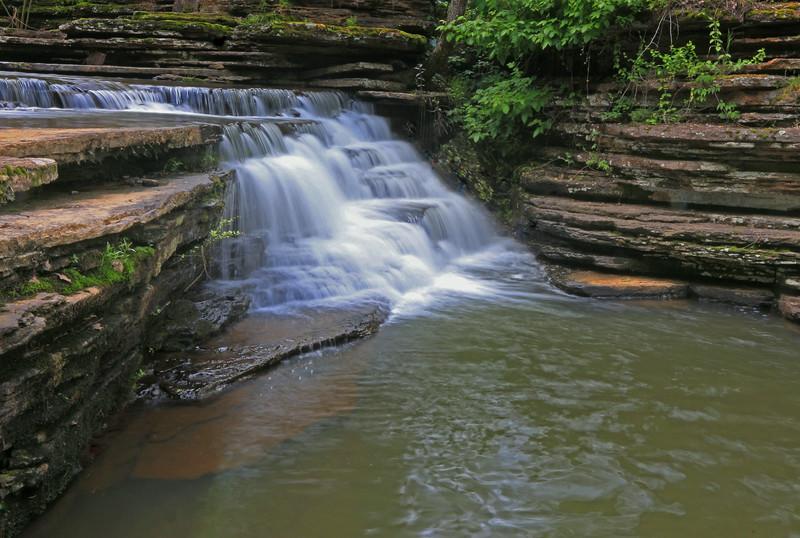 Rommance Falls, Rommance, Arkansas
